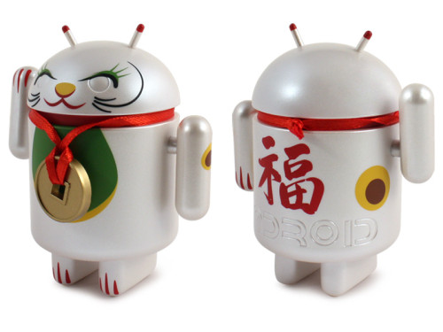 Android_LuckyCat_WhitePendant_3Quarter_800