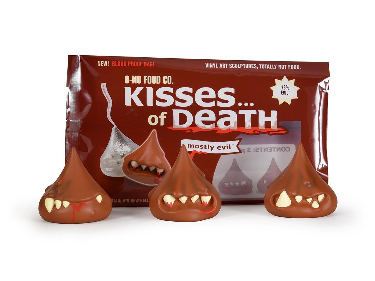 "2/"" KISSES OF DEATH 3 PACK BONEY CRUNCH EDITION VINYL FIGURES ANDREW BELL"