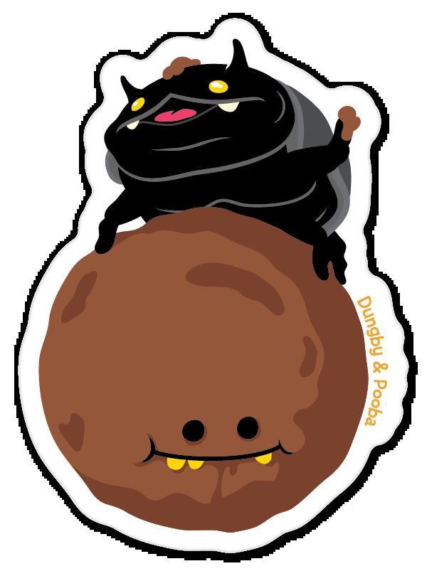 Dungby sticker