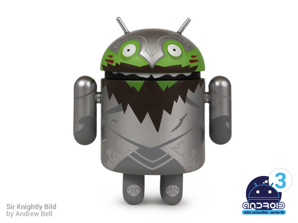 Android mini collectibles Series 03 - Sir Knightly Bild by Andrew Bell