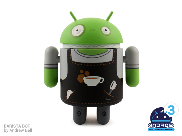 Android mini collectibles series 03 Barista Bot