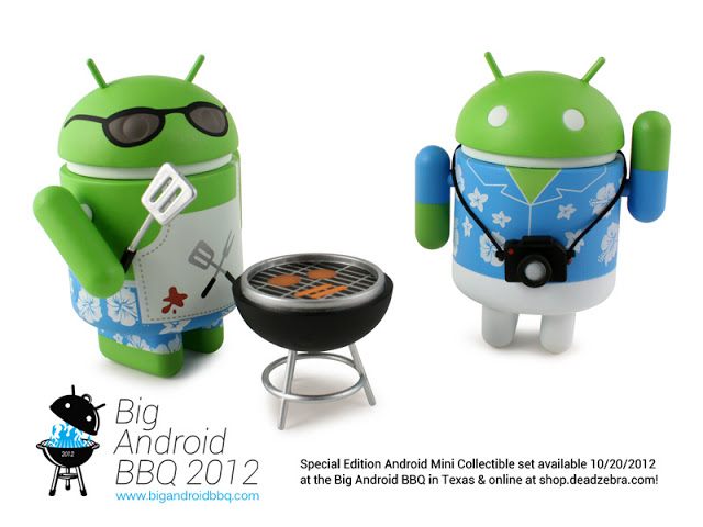 Big Android BBQ Androids