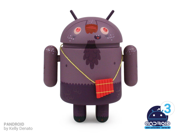 Android mini collectibles Series 02 - Pandroid by Kelly Denato